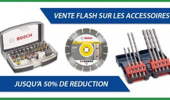 Vente flash sur les accessoires et les consommables !