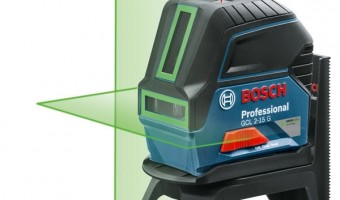 Test du laser croix vert GCL2-15G de chez Bosch