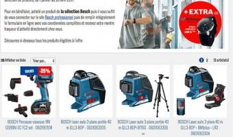 Offre connectivité Bosch : une montre traqueur d'activité offerte