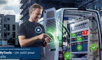 Nouveau : outils connectés de Bosch