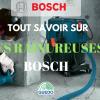 Les rainureuses Bosch et leurs fonctions