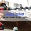 Comment utiliser une perceuse à percussion ?