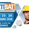 Artibat 2018 : salon du bâtiment à Rennes le 24, 25 et 26 octobre