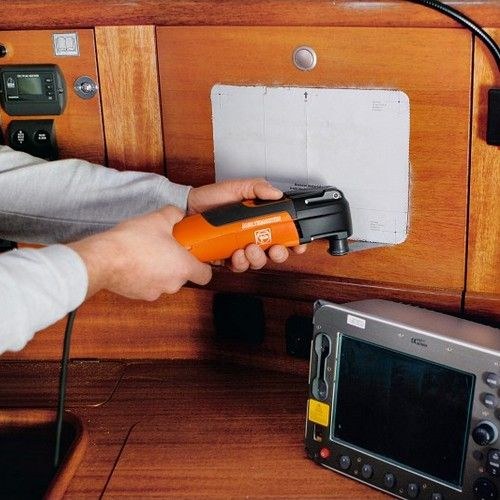 Multimaster Fein: utilisation sur un bateau