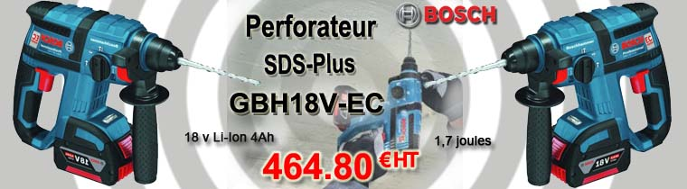 Perforateur Bosch SDS-Plus
