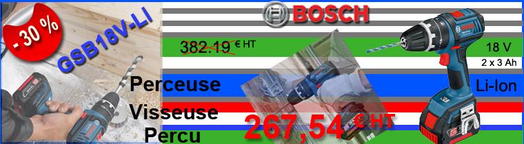Perceuse professionnelle Bosch GSB 18V-LI