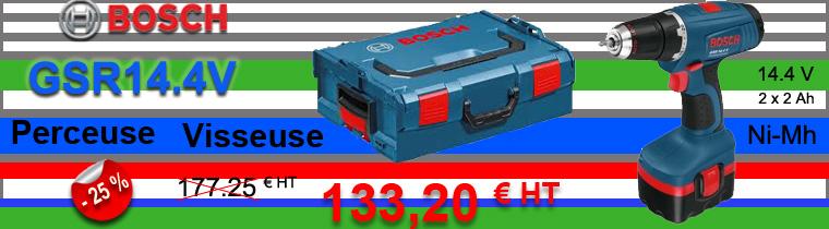 Perceuse visseuse Bosch 14.4V