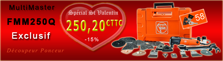 Multimaster Fein exclusif Saint Valentin
