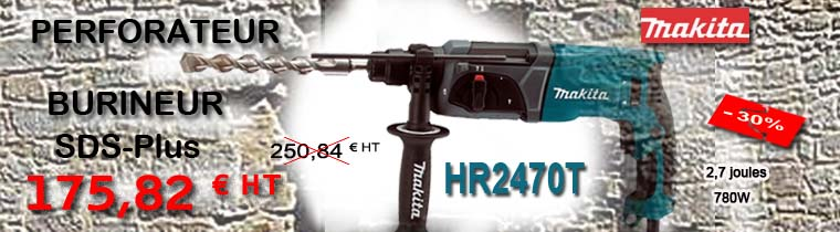 Perforateur burineur HR2470T Makita