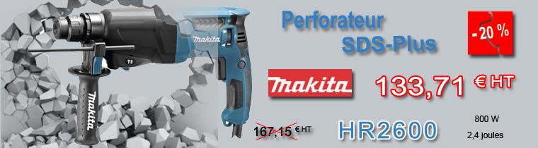 Perforateur Makita HR2600