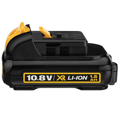 Une batterie Li-Ion Dewalt 10.8V