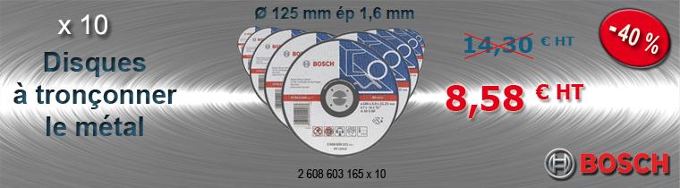 Disques à tronçonner Bosch