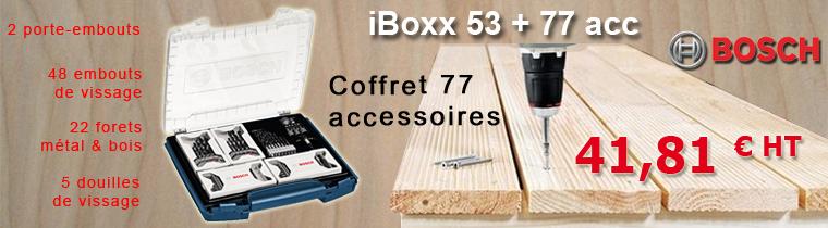 Bosch Iboxx 53 + 77 acc