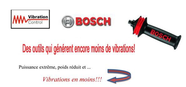 Bosch système anti vibration