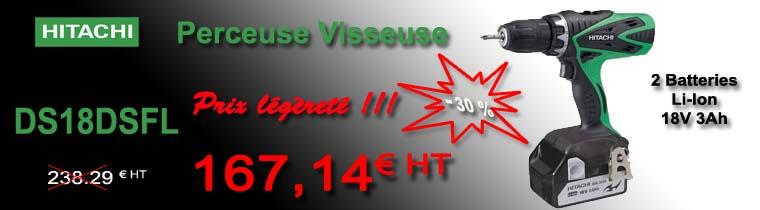 Perceuse Visseuse HITACHI DS18DSFL