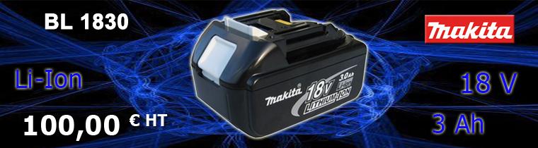 Batterie Makita 3 Ah