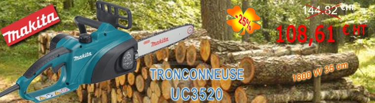 Tronçonneuse Makita UC3520