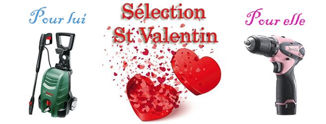Sélection outillage St Valentin