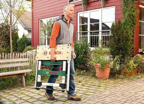 tabli transportable bosch pwb 600 en test. Black Bedroom Furniture Sets. Home Design Ideas