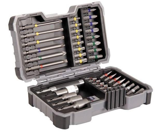 Coffret Bosch 43 pièces : embouts et douilles pour visseuses