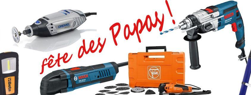 Offrir un outil comme cadeau pour la fête des pères