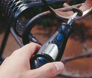 Test outillage d'un outil multifonction le Dremel 7700