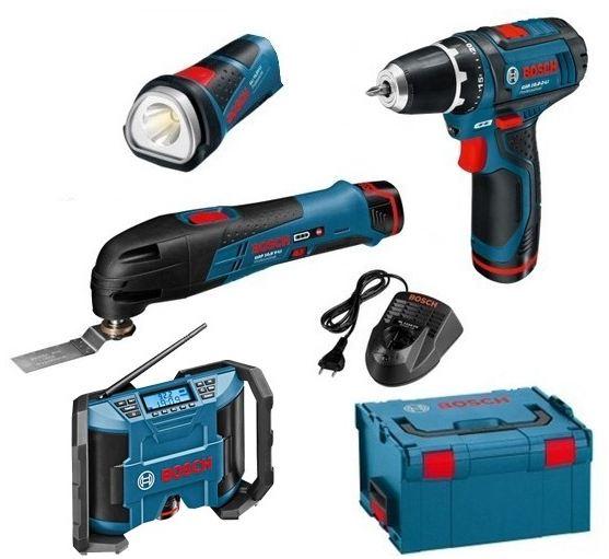 Pack d'outils professionnels Bosch