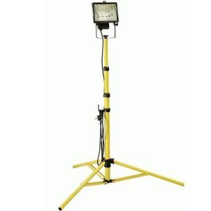 Projecteur halogène téléschopique 500 watt, 2 mètres