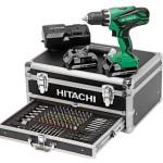 Perceuse visseuse Hitachi 18v avec 100 accessoires