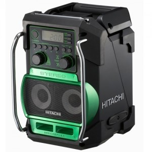 radio de chantier hitachi