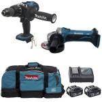 kit de 6 outils Makita visseuse meuleuse et perceuse