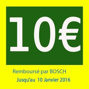 offre spécial Dremel : remboursement de 10€