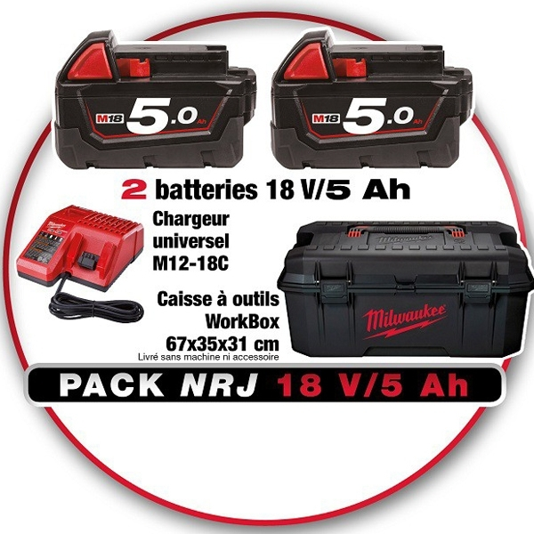 pack batterie Milwaukee