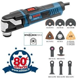 BOSCH Découpeur Ponceur StarlockMax 550W GOP55-36 +25acc