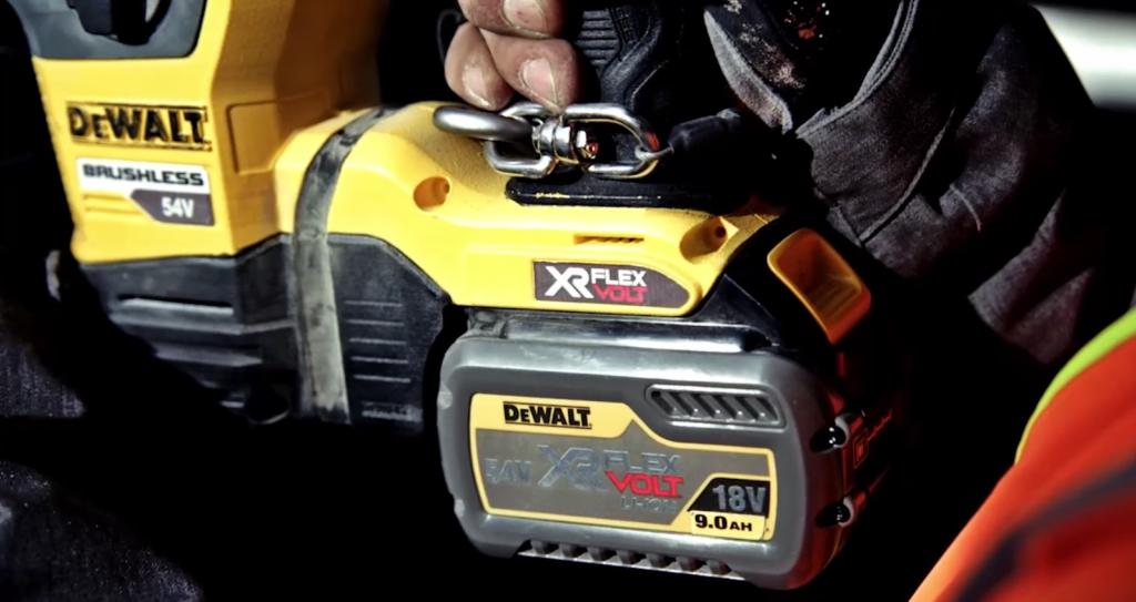 batterie de la gamme XR flexvolt