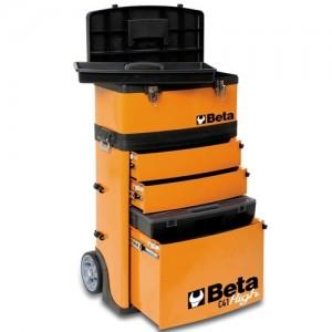 BETA Chariot porte-outils 2 modules superposables - C41H
