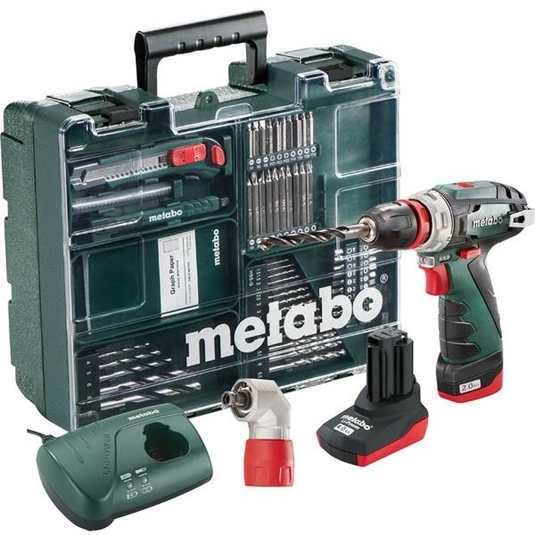 METABO Perceuse visseuse 10.8V + set de 63 accessoires