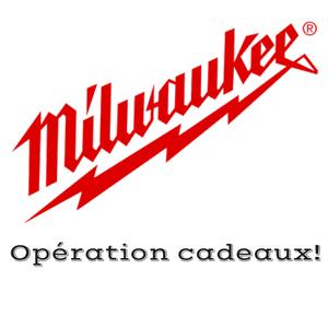 Logo Milwaukee Operation cadeaux