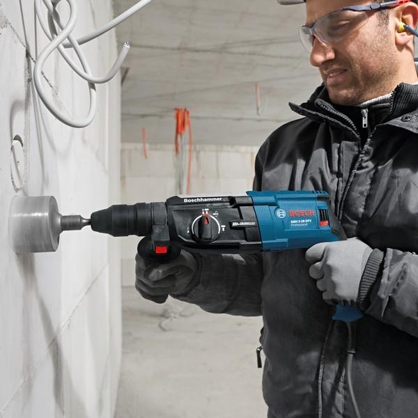 perforateur burineur GBH2-28F bosh scie cloche