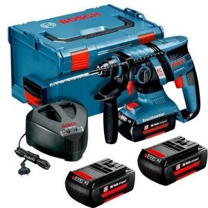 le Coffret Perforateur SDS-Plus GBH36V-EC Bosch et ses Batteries 2,0Ah