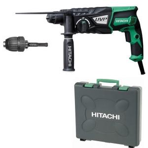 le perforateur burineur Hitachi DH28PCY et son coffret