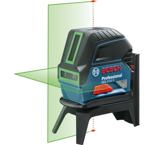BOSCH Laser croix Vert portée 15m GCL2-15G - 0601066J00