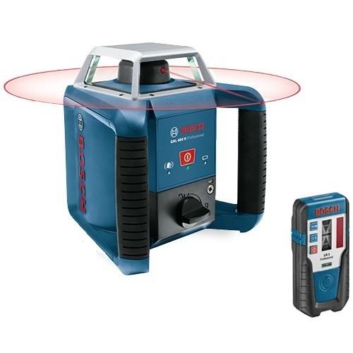 BOSCH Laser rotatif auto H portée Ø 400 m - GRL400H 0601061800