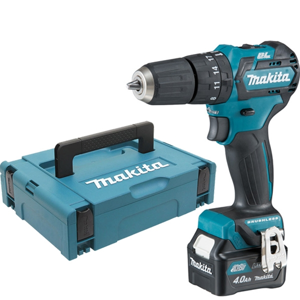 MAKITA Perceuse visseuse percussion 10.8V 4Ah - HP332DSMJ et son coffret de transport - Guédo
