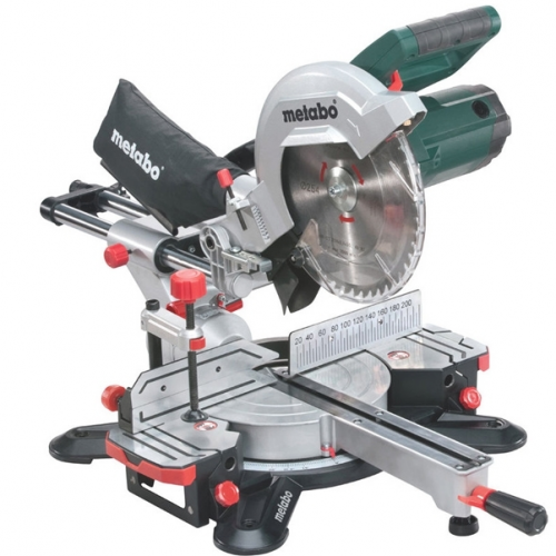 METABO Scie à onglets radiale 1500W KGS 254 M
