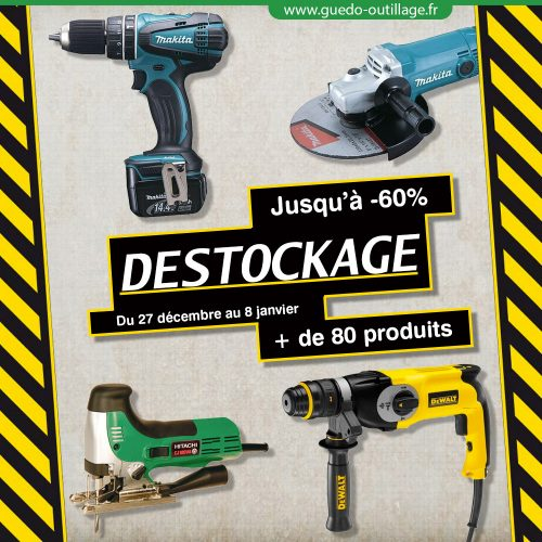 Desctockage Guedo Outillage
