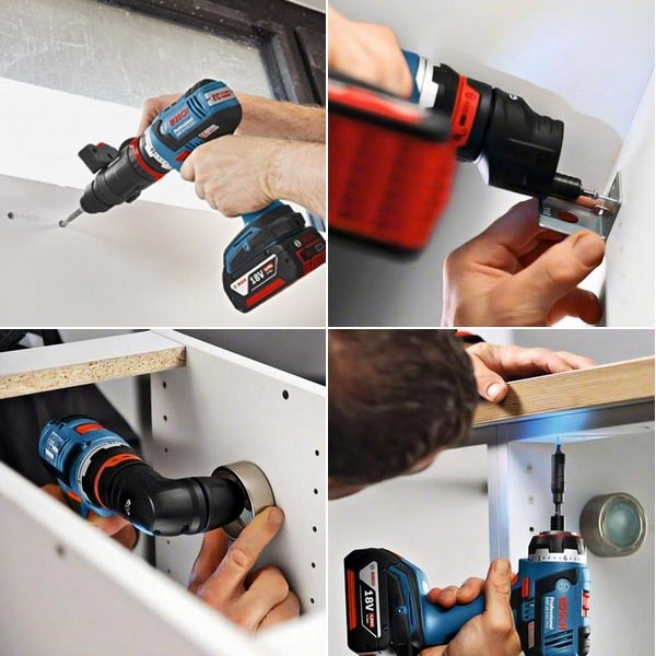 BOSCH Perceuse visseuse 18V GSR18V-EC FC2 set