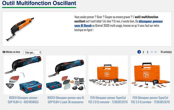 Outil Multifonction Oscillant