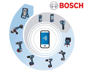 Outils connectés de Bosch