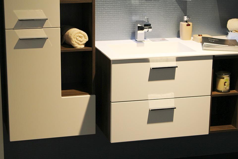 meuble design salle de bains